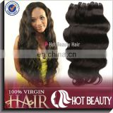 Guanzhou hot beauty virgin human hair packed by hair bags