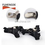 High quality bed sheet corner holders elastic grippers suspenders holder straps clips fasteners with metal adjusters