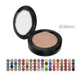 Wholesale cosmetic private label single color glitter pigment Eyeshadow Palette