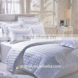 luxury five star stripe hotel bed sheets 1000 thread count egyptian cotton sheets