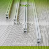 pvc extrusion plastic profile for curtain rail and slide rail