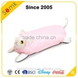 Custom made fanny cute animal shape outdoor hanging chair waist velvet cushion