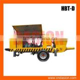 HBT-D-butterfly-valve Concrete Trailer Pumps South Africa