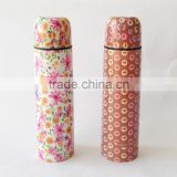 Full printing stainless steel Vacuum Thermos Flask Vacuum Travel Thermos                                                                         Quality Choice