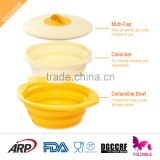 ARP unbreakable microwave foldable silicone bowls