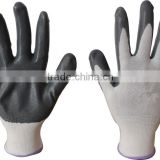 113Guage nylon nitrile coated gloves,work gloves,nitrile gloves (We take customer as our gods)