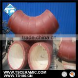 Acid-Resisting Al2O3 Ceramic Lined Bend Pipe for Mining Industry