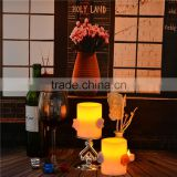 moving wick led flameless candle with timer flameless led candles flameless timer candles