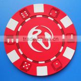 round red cup mat for promotional corporate gifts