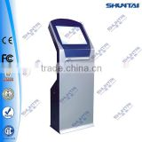tablet internet Kiosk with advertising screen