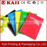 good sales promotional paper notebook, diary notebook, small size writing pad high quality