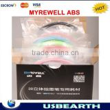 2015 Hotsale MYREWELL ABS , Touch Screen Control 3D printer material