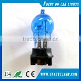 china manufacturer turn signal bulb blue glass PWY24W car halogen lamp