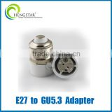 ceramic lamp adapter GU24,GU10,E27,E14,E12, e27 to GU5.3 adapter