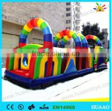 Commercial boot camp inflatable obstacle course