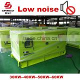 CE ISO approved power generator low noise with automatic voltage regulator