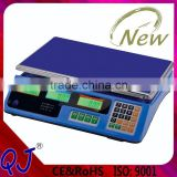30 to 40kg more color housing electronic digital price computing weighing scale for scale factory