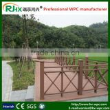 Natural look composite decking for outdoor fencing with waterproof and moisture-proof/WPC outdoor playground fences