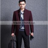 The spring and autumn period and the new men's windbreaker business men's wear brand cashmere cloth coat