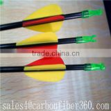 Hot sale Christmas Day gift 7mm diamater fiberglass arrows for youngster