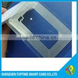 transparent ultralight blank nfc card