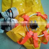 Proof load test water filled weight bags with load cell