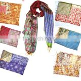 Vintage Designer Double Sided Shawls / Scarves