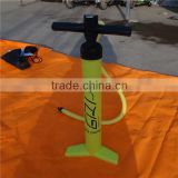 2016 hot selling hand pump for inflatable sup board/stand up paddle pump/durable air pump