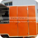 2014 High-Tech Outdoor Mobile Pearl Barley Maize Snack Food Trailer Kiosk Vehicle for Sale XR-FV400 A