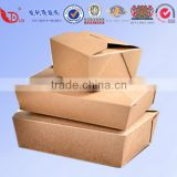 high quality cardboard paper lunch packing food box                                                                         Quality Choice