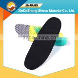shock absorbing cooling gel mesh insole for sports shoes
