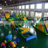 Giant inflatable water obstacle course, inflatable floating water toy                                                                                                         Supplier's Choice