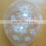 Helium balloon Global printing transparent latex balloons