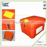 60L insulated Food Delivery Rear Box, for motorcycle/scooter bicycle