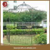 New design beautiful outdoor wrought iron gazebo