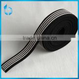 Mass production of elastic rubber tape band with cheap cost for riding boots ribbon
