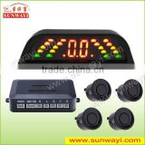 car distance detection system with distance sensor for car security