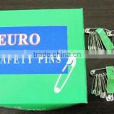 MK-S07 Wholesale High Quality First aid Boxes Accessories Metal Stainless Steel EURO Safety Pin
