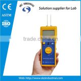 portable digital cotton, wool, yarn, garments, textile humidity meter