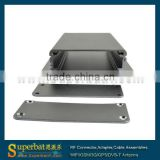 "Aluminum Box Enclosure Case -4.71""*2.44""*0.98""(L*W*H) aluminum pedal box"