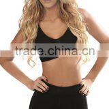 Hooks Front Closure Shockproof Breast Push Up Seamless Tanks Sport Bra Women
