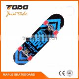High quanlity factory price Wholesale complete maple board bamboo cruiser skateboard deck