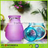 INquiry about FLOWERSEA Barent red / yellow / blue / green / purple glass candle jar for home decoration