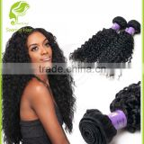 No Chemical Processed Full Cuticle Intact Can Be Dyed And Bleached mongolian kinky curly hair weave 4a