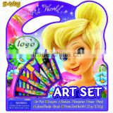 Character Art Tote Activity Set ,lock pick set,