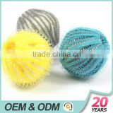 100%nylon yellow blue gray washing machine balls for laundry