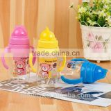 Custom logo cheap reusable plastic children drink water bottle/hot insulated sports water bottle