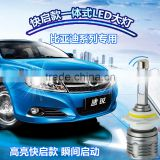 Highest Quality Car LED Headlight H1,H3, H4, H7, H8, H9,H10, H11,H13,9005, 9006,9012 with CREEs Chip 5400LM 6000K