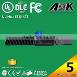 AOK FCC UL DLC IP66 IK10 Photocell Dimmable Sensor Remote Area Outdoor 150W LED Parking Lot Pole Lighting Retrofit