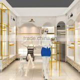 Direct factory modern clothes kiosk /clothes display for sale